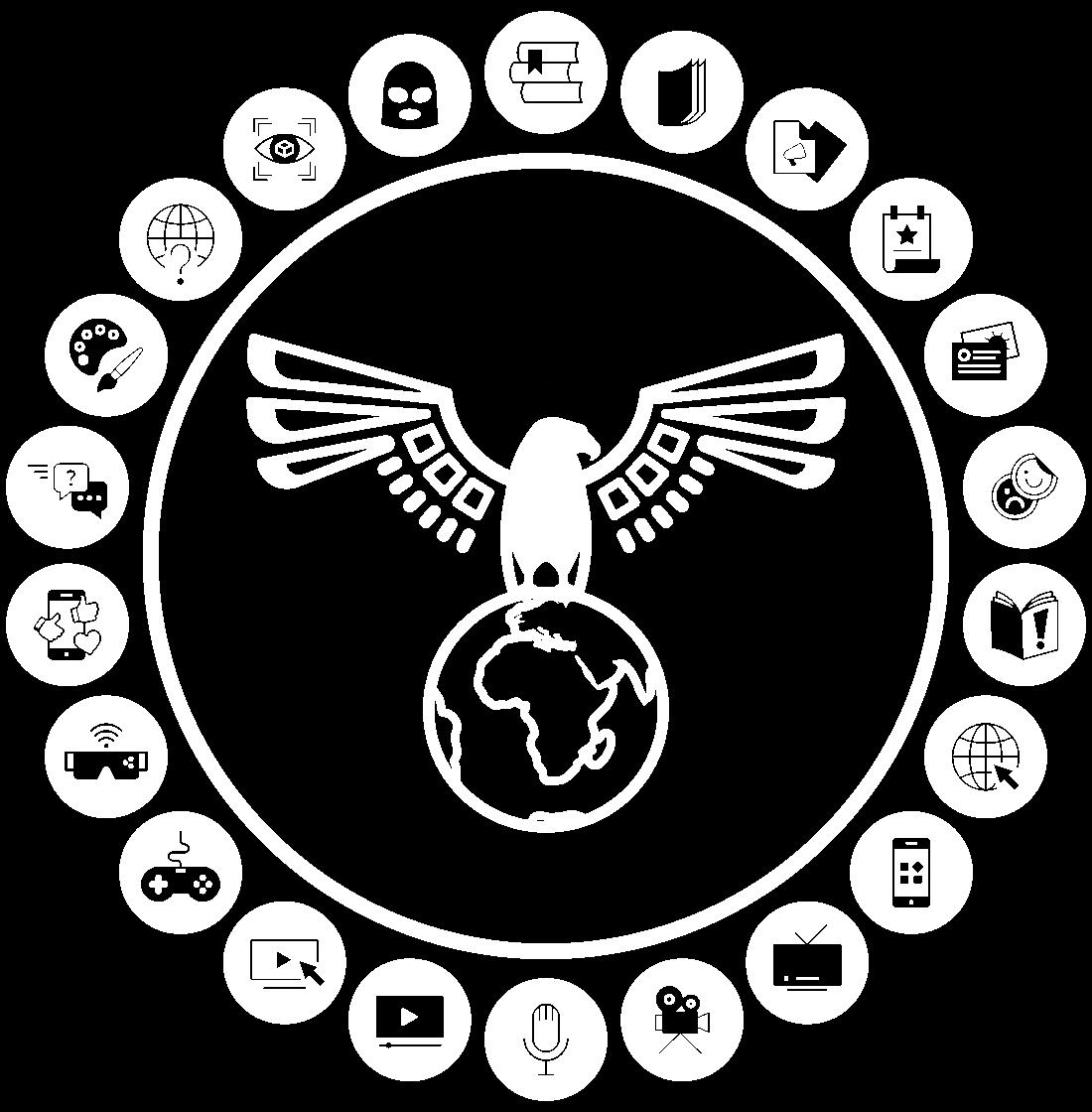 Creative Collaborative Media Design EaglesVision Transmedia Diagram